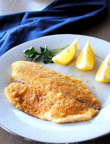 Baked Tilapia Oreganata by 2sistersrecipes.com