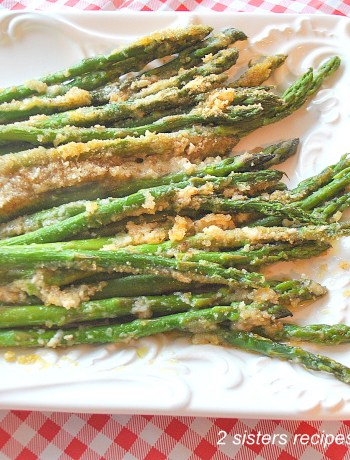 Asparagus Au Gratin Lightened! by 2sistersrecipes.com