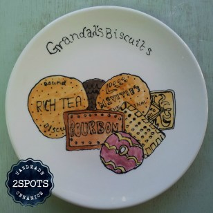 A special plate painted by a special 12 year old
