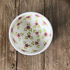 Hen Party hand-drawn flower bowl