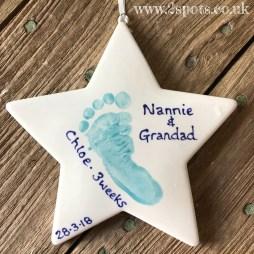 Nannie and Grandad Star