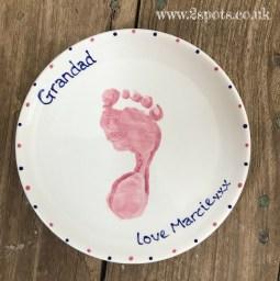 Pink Footprint Mug