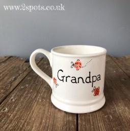 Grandpa's fishy fingerprint mug