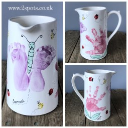 Family Painted Jug