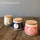 Little lidded pots