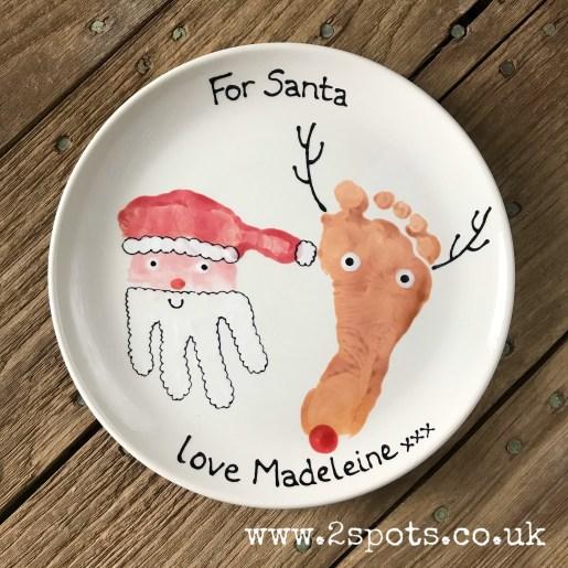Christmas Plate for Madeleine