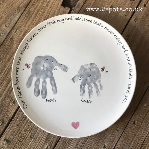 Elephant Plate for Nanny