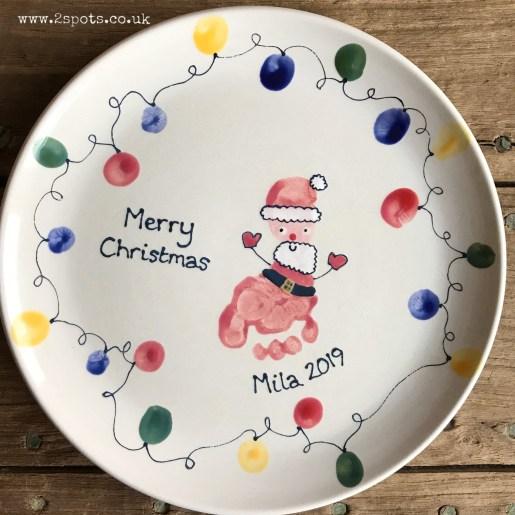 Father Christmas Plate