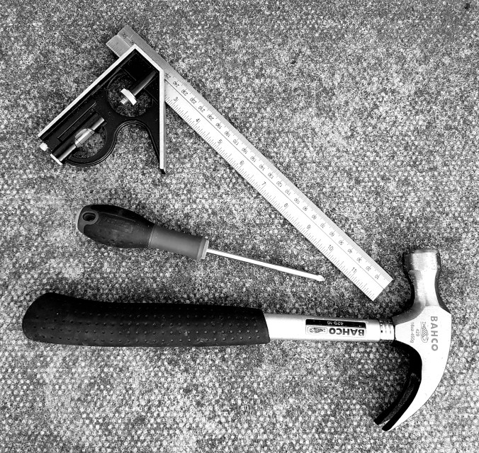 Tools for creating a shelf