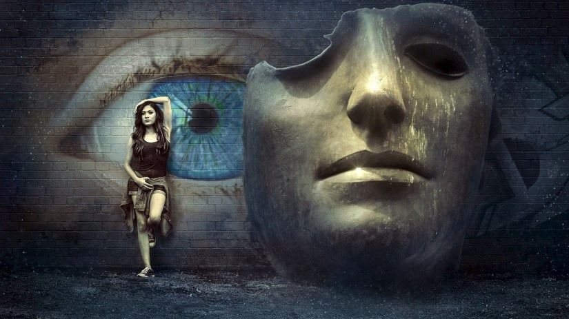 mask-woman-wall_kellepics