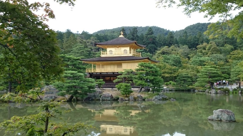 the Golden Pavilion, Kyoto, Japan