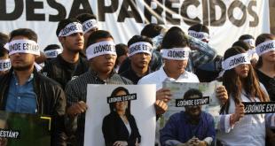 Une manifestation pour réclamer la lumière sur la disparition des trois étudiants avait été organisée le 19 mars à Tonala.