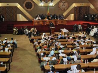 L'Assemblée nationale du Mali à Bamako (image d'illustration). © HABIBOU KOUYATE / AFP