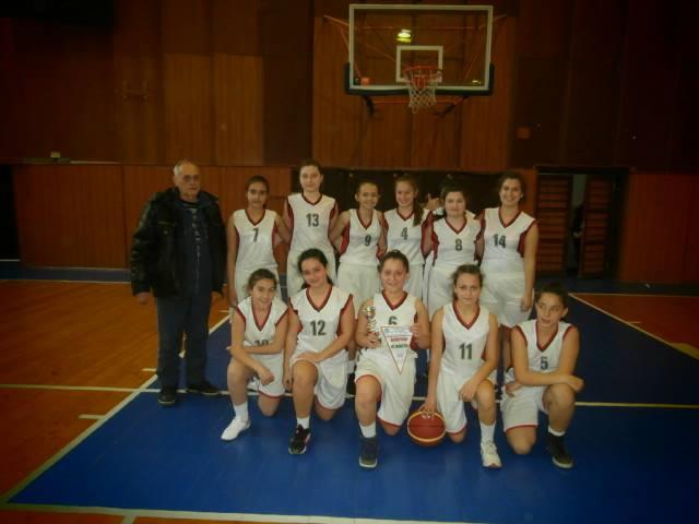Нови успехи на спортистите баскетболисти