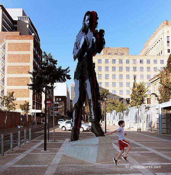 Mandela and kid
