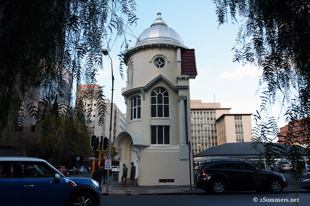 Turret from street