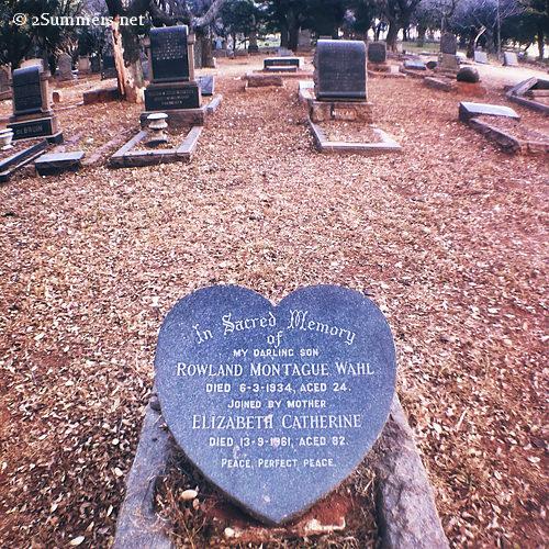 Sad gravestone
