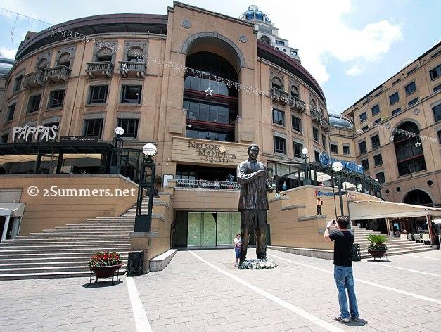 Madiba statue photo session copy