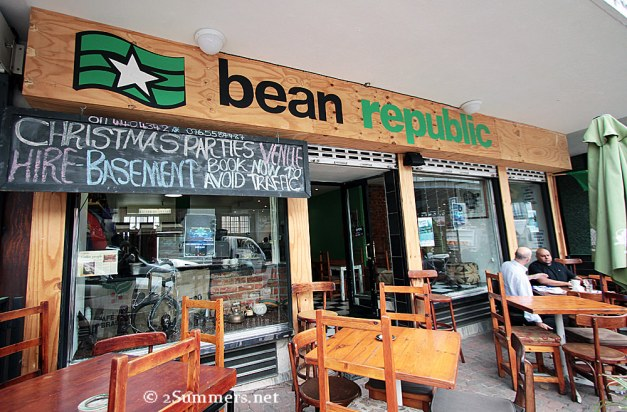 Bean Republic outside