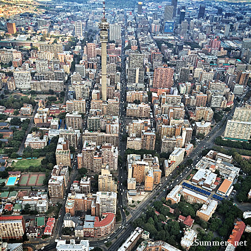 Hillbrow from above