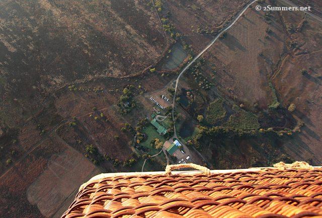 Looking down Bill Harrops