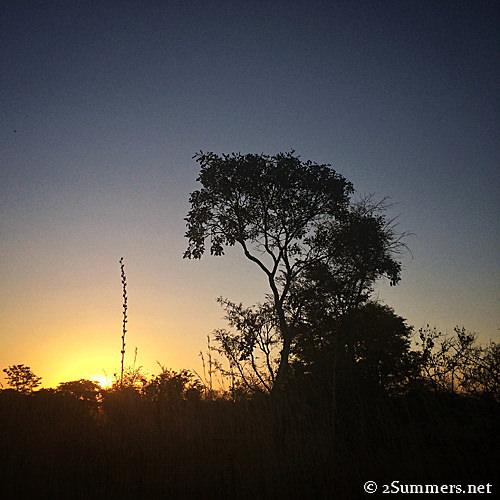 Kadoma sunset