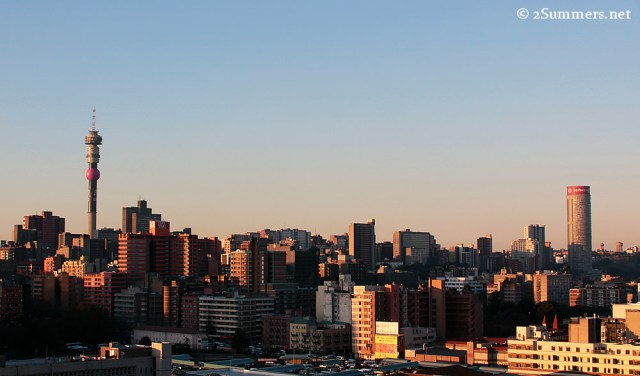 Hillbrow view from Rissik