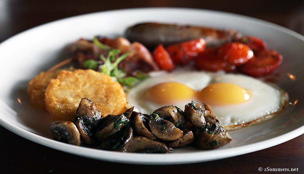 Grootbos breakfast