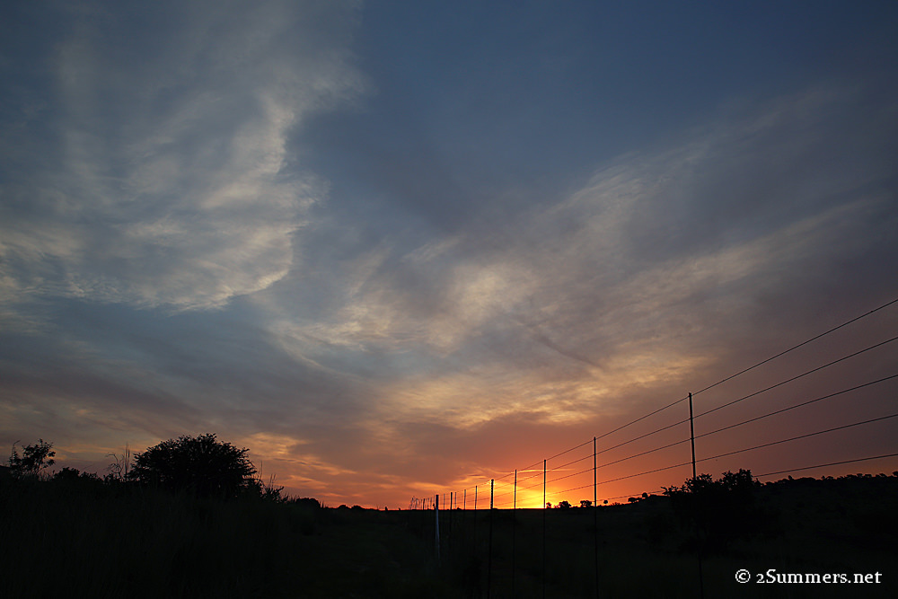 Maropeng sunset