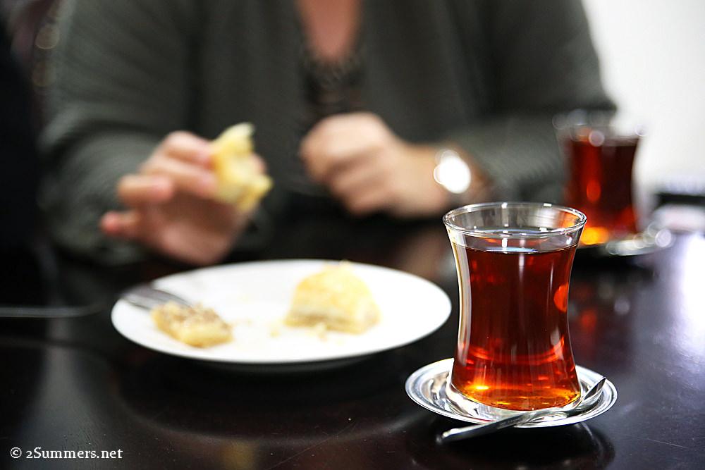 Burhans tea