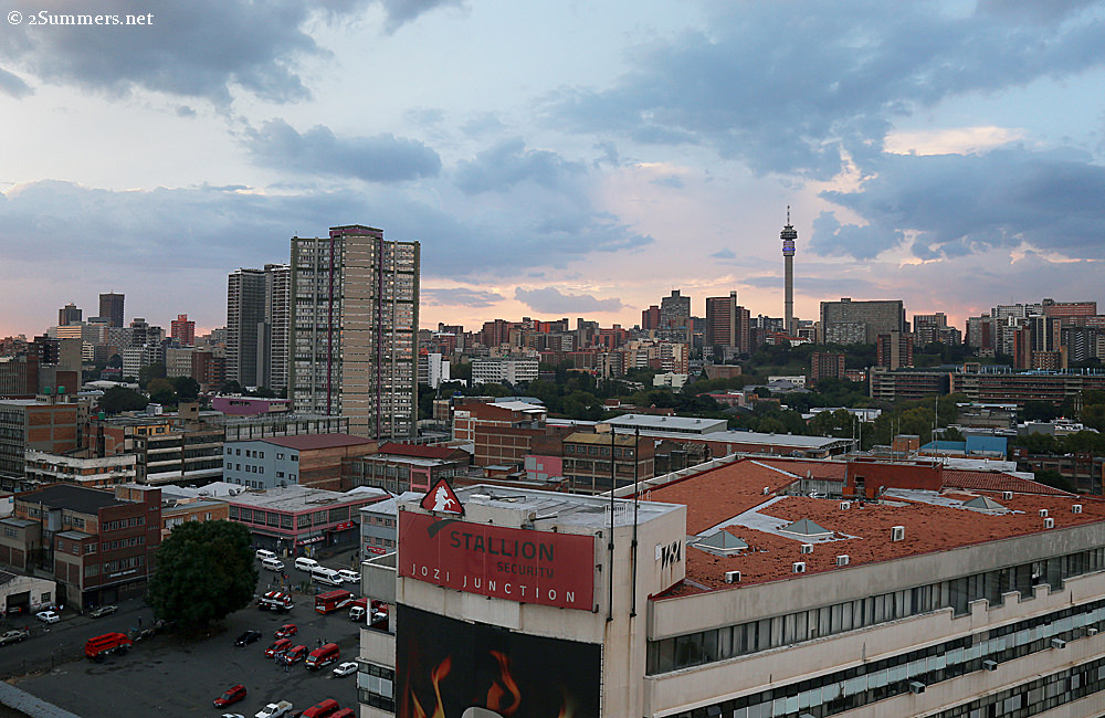 Hillbrow Tower landscape