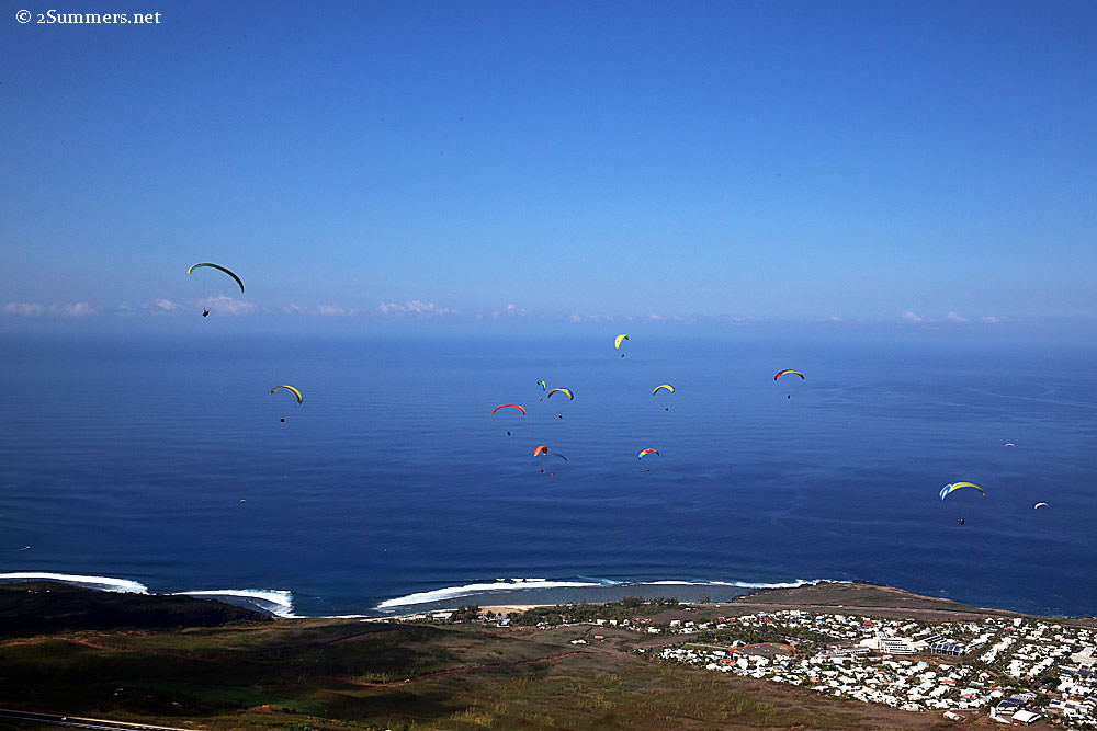 Paragliding-view