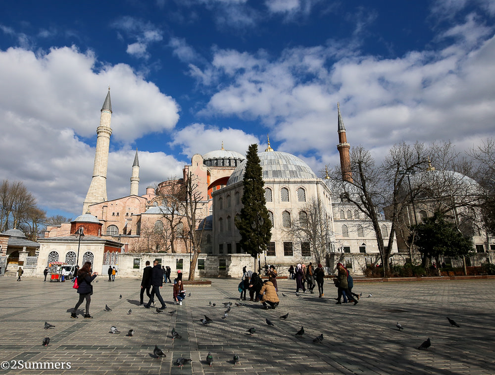 Hagia Sophia outside