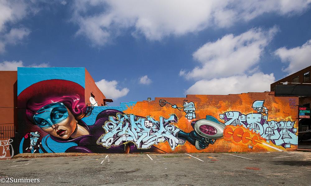Westdene Graffit by Rasty, Curio, and Myza