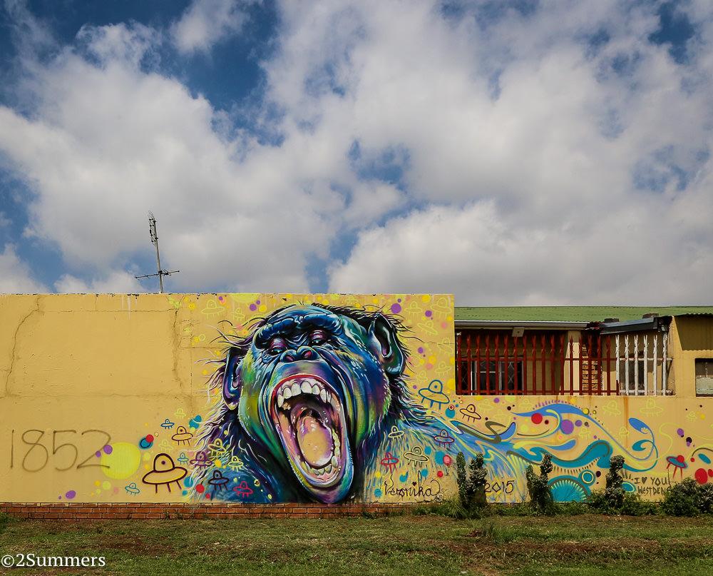 Westdene graffiti by Veronika
