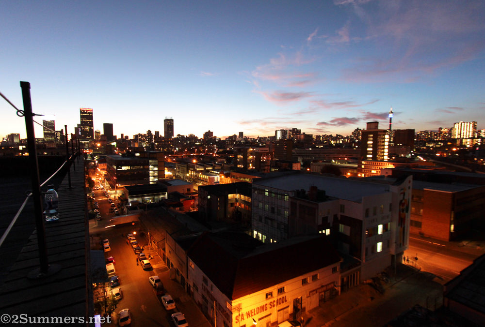 Joburg Skyline from Situation East