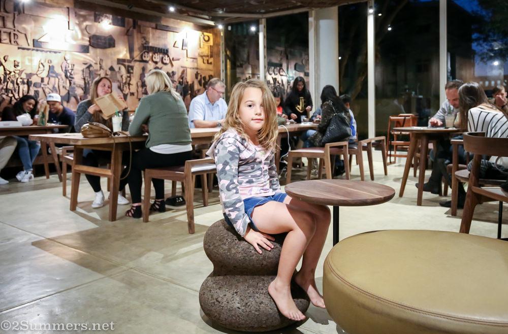 Lene at Starbucks