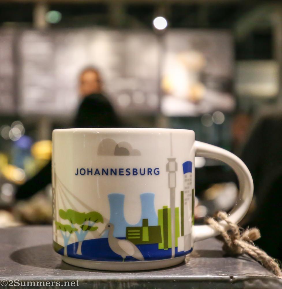 Starbucks Joburg mug