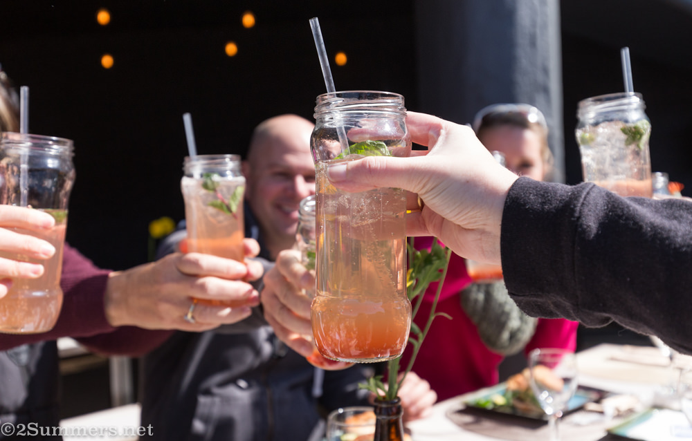 Drinks at Joziburg Lane
