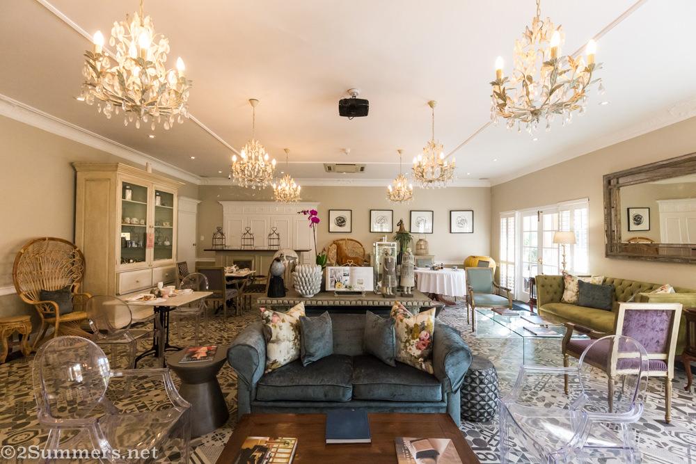 High tea room at Fairlawns