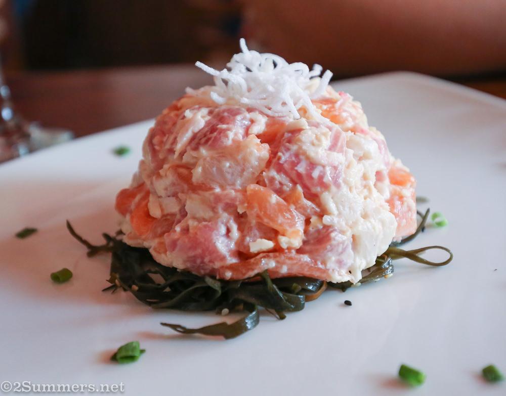 Hashi sushi ball
