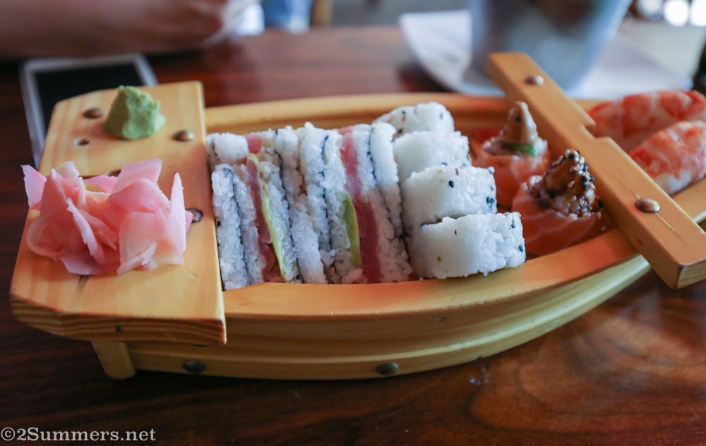 Hashi combo platter