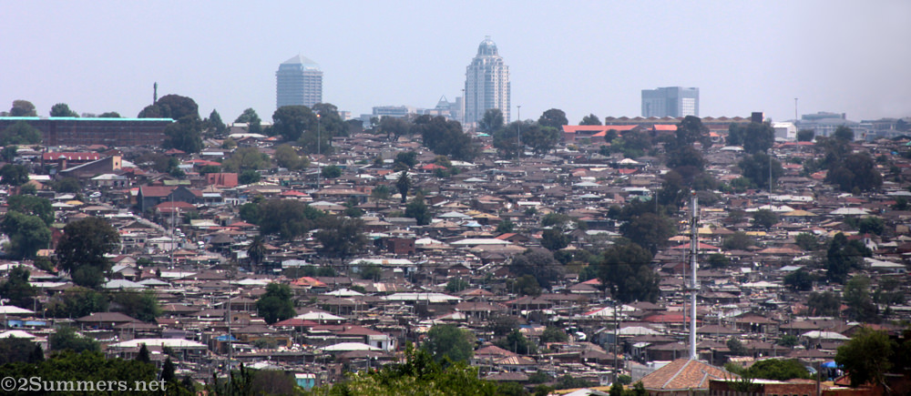 Alexandra Township and Sandton