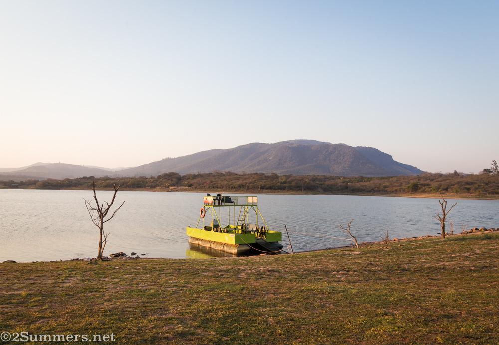 Boat on Albasini Dam