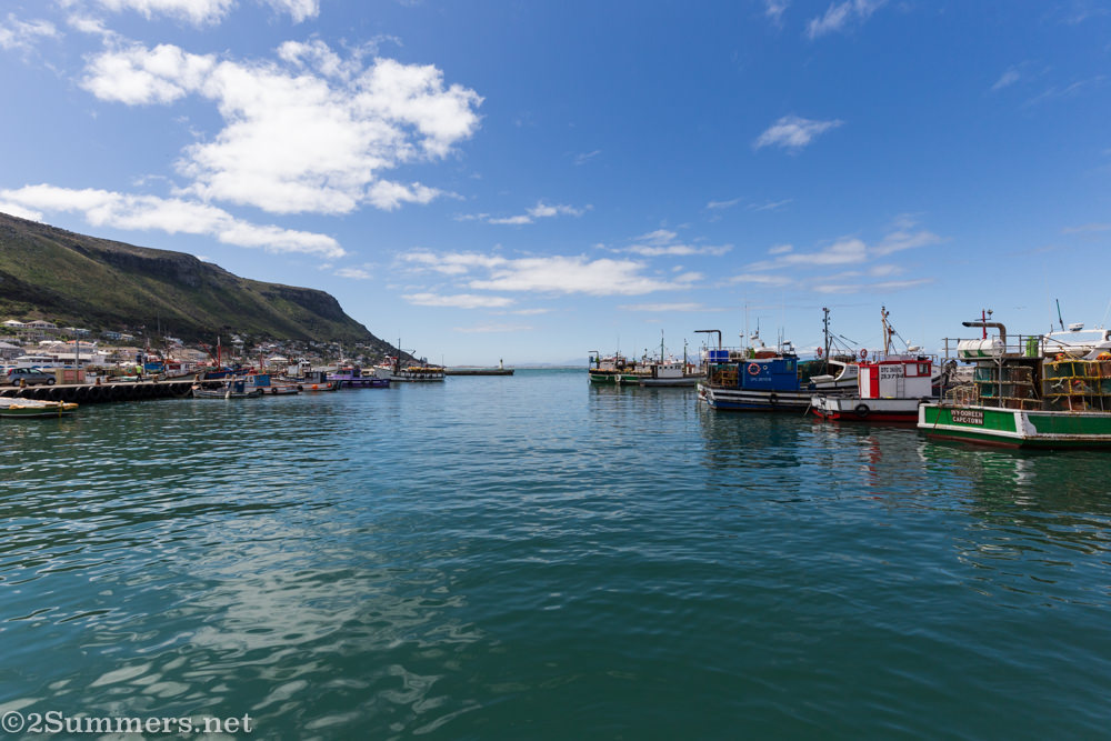 Kalk Bay water and boats