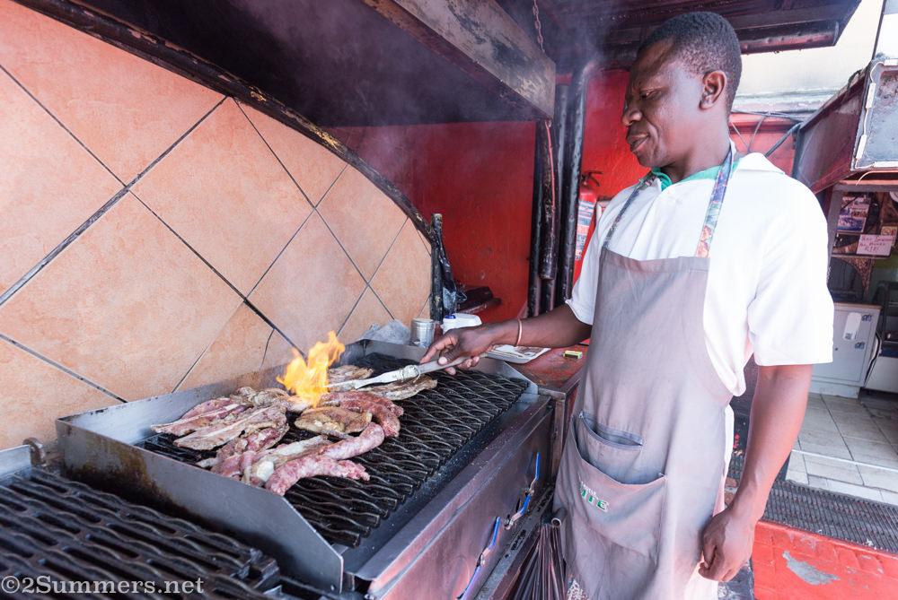 Wilbert the Joe's Butchery braai master