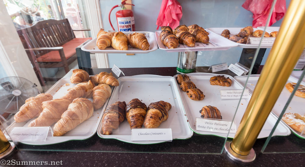 Croissants at Patisserie de Paris