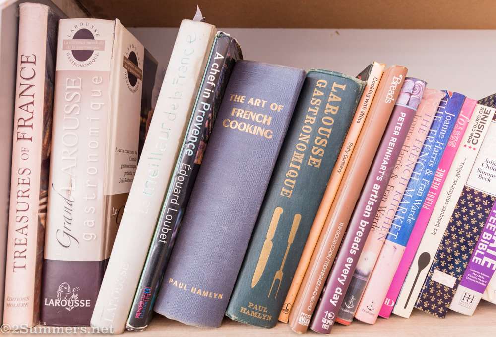 Books at Patisserie de Paris