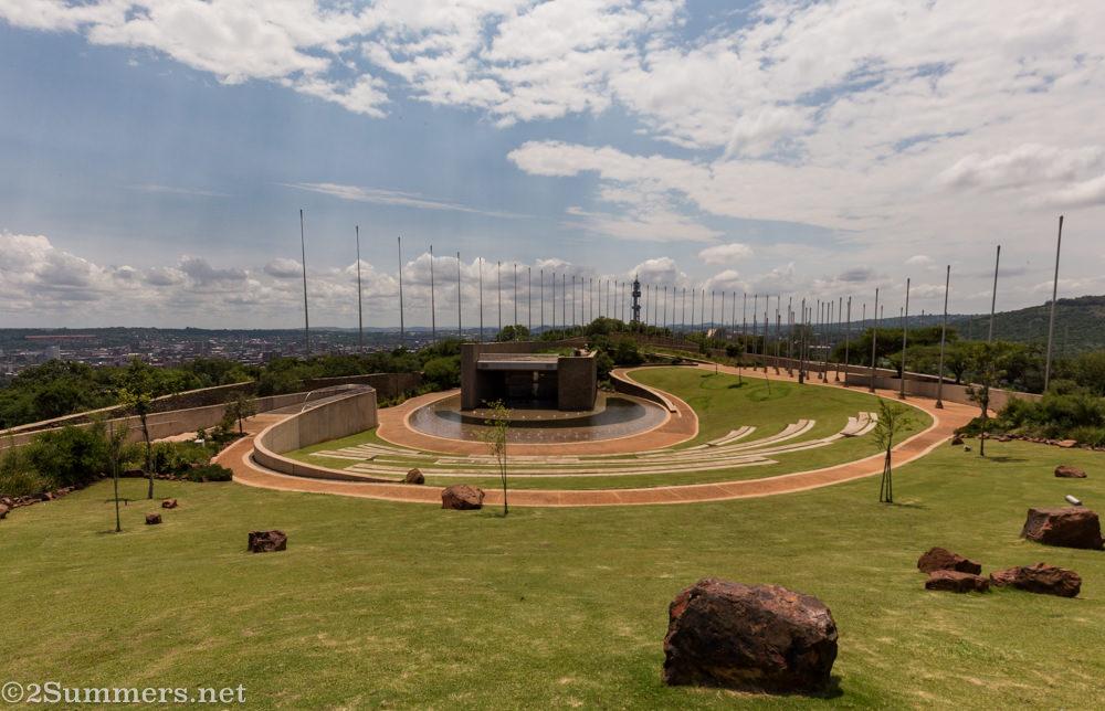 S'Khumbuto at Freedom Park