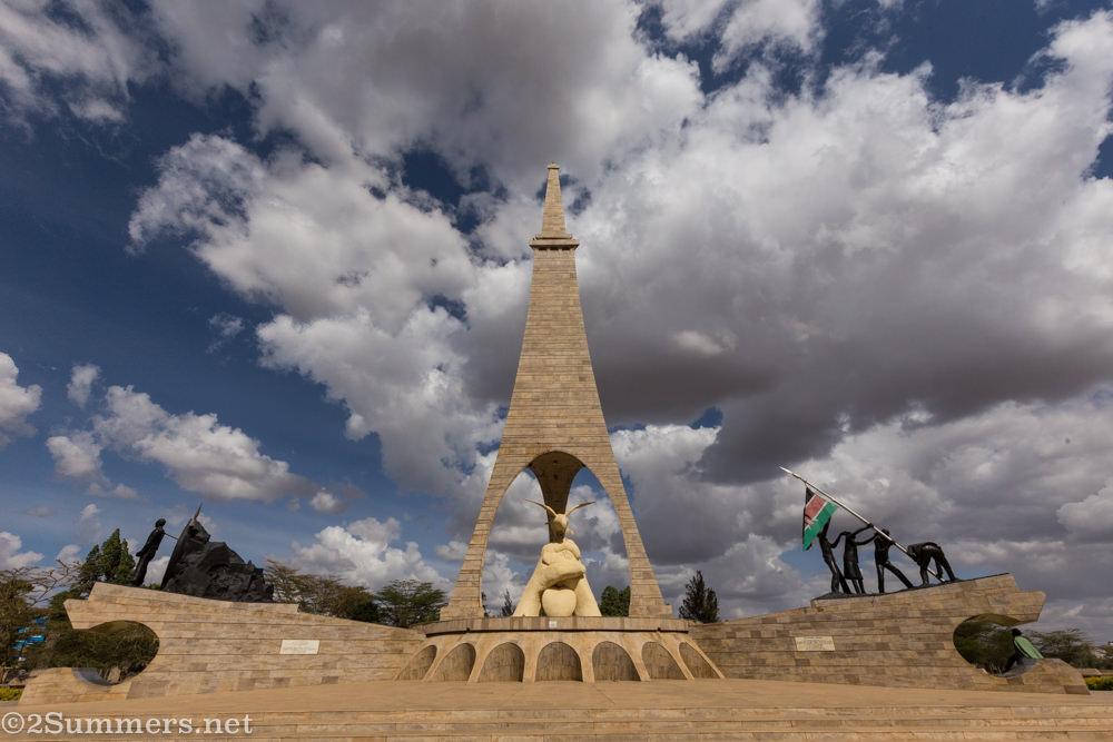 Uhuru Gardens memorial